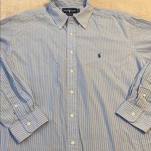 Ralph Lauren size 17-35 striped button down